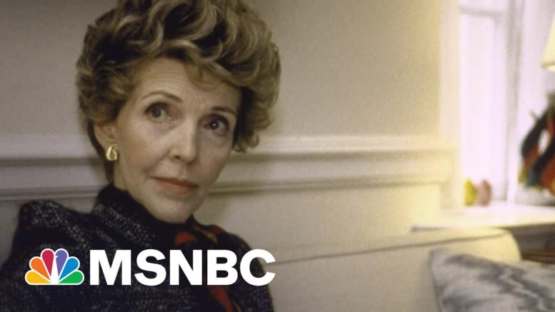 What Made Nancy Reagan An 'Essential Partner' To Her Husband | Morning Joe | MSNBC 1