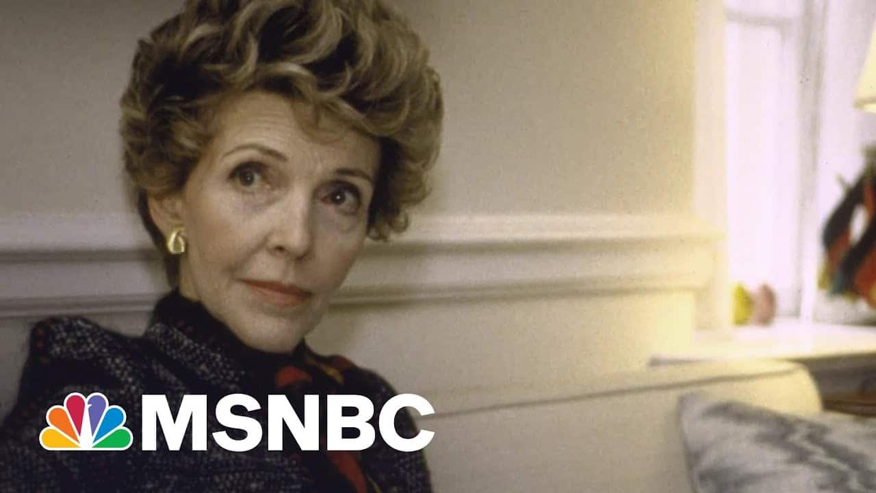 What Made Nancy Reagan An 'Essential Partner' To Her Husband | Morning Joe | MSNBC 2