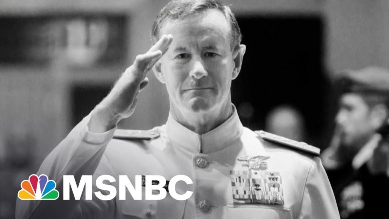 'I Have Great Optimism' For The Country, Says Navy Four-Star Admiral | Morning Joe | MSNBC 1