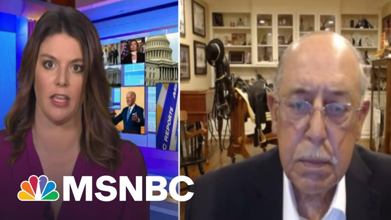 Lt. General Honore Says Congress Needs To Act On Capitol Security Changes | Stephanie Ruhle | MSNBC 2