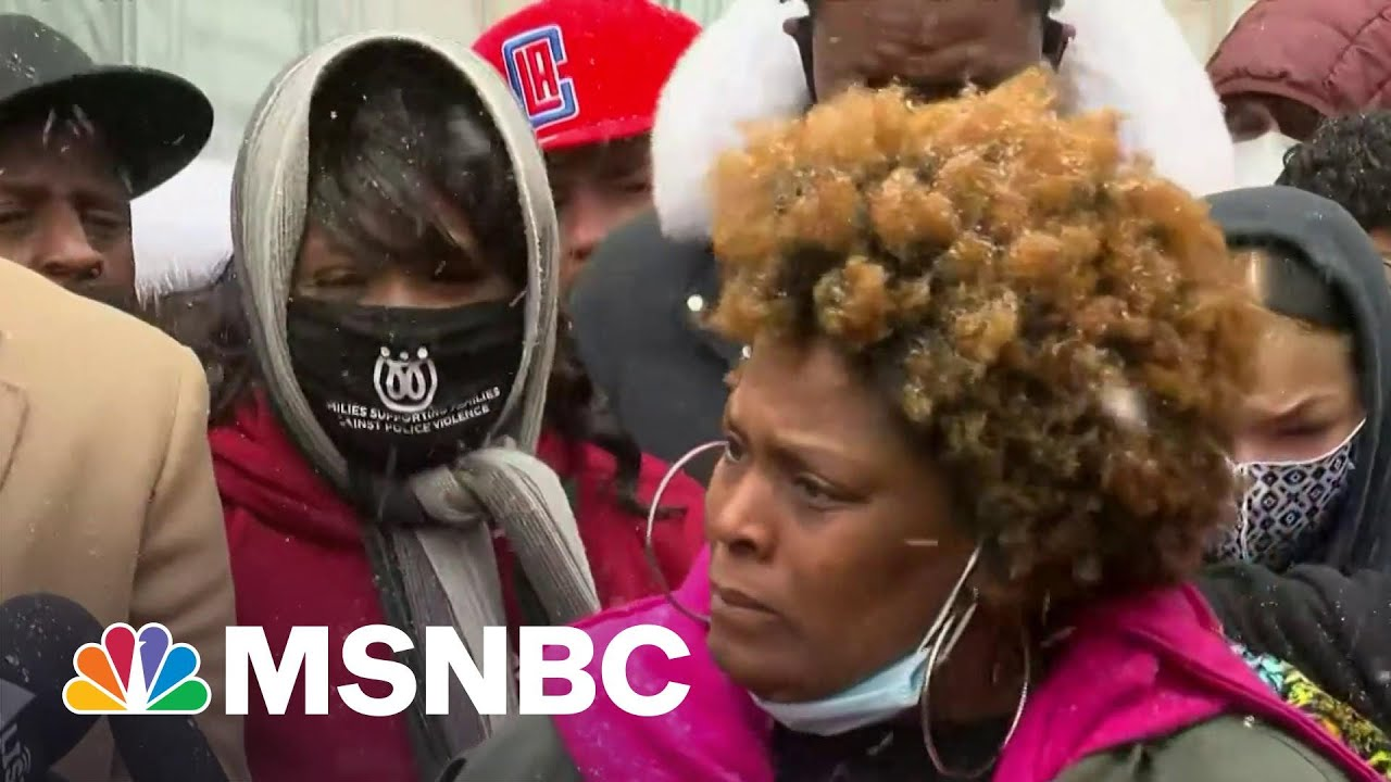 'They Murdered My Nephew': Floyd & Wright Families Hold Joint News Conference | The ReidOut | MSNBC 1