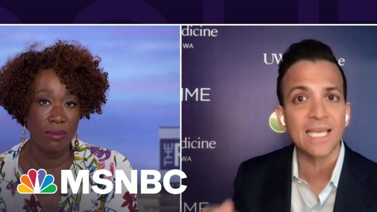 Dr. Vin Gupta: Blood Clots From J&J Vaccine 'Exceptionally Rare' | The ReidOut | MSNBC 1