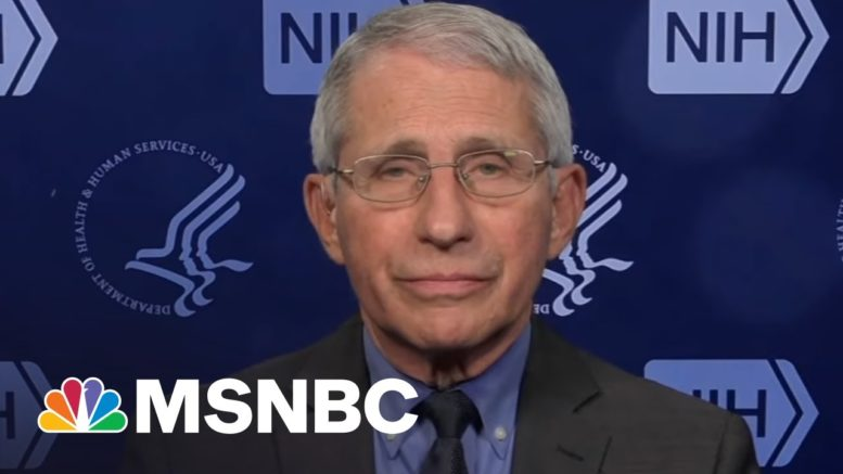 Dr. Fauci On Johnson & Johnson Vaccine Pause: 'Safety Was Put Right Up Front' | All In | MSNBC 1