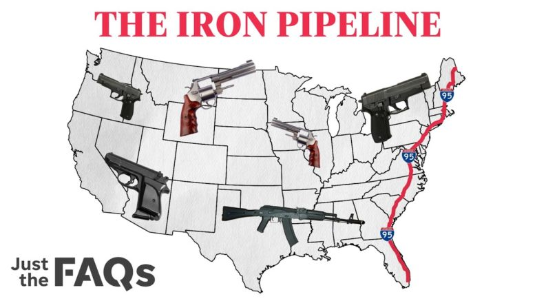 How guns are smuggled from state to state on the iron pipeline   Just the FAQs 1