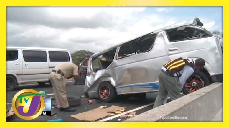 5 Dead, 10 Injured on PJ Patterson High Way in Jamaica | TVJ News - April 12 2021 1