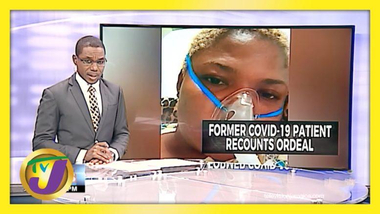 Covid-19 Survivor Story in Jamaica   TVJ News - April 12 2021 1