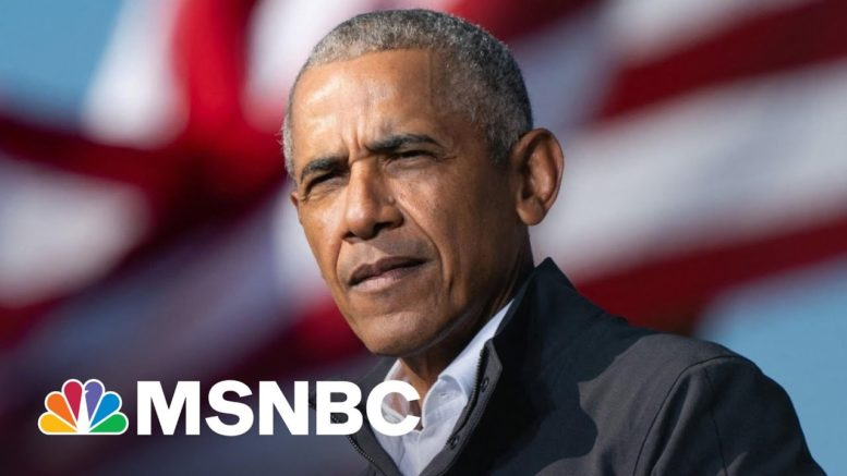 Obama On Daunte Wright's Death: We Must 'Reimagine Policing' | The 11th Hour | MSNBC 1