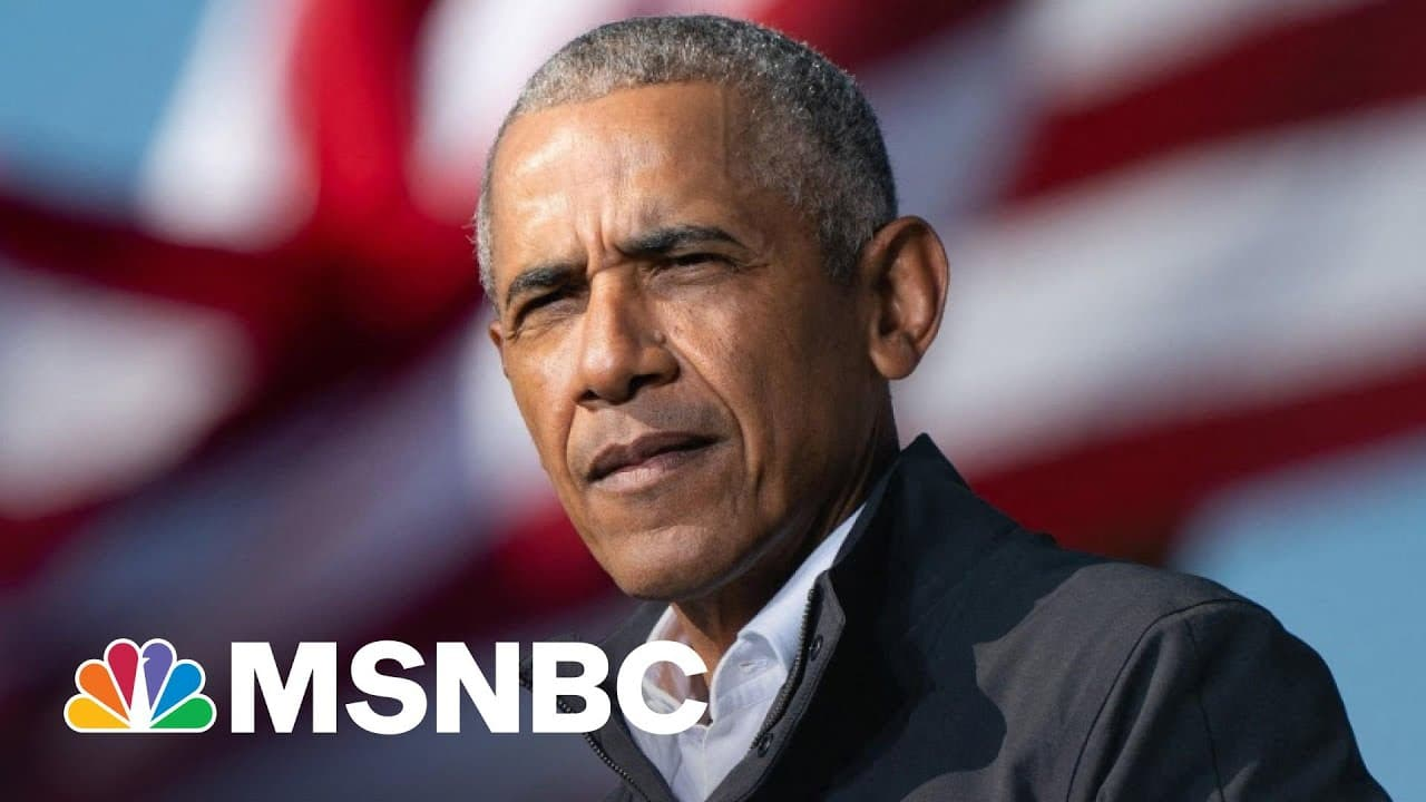 Obama On Daunte Wright's Death: We Must 'Reimagine Policing' | The 11th Hour | MSNBC 9