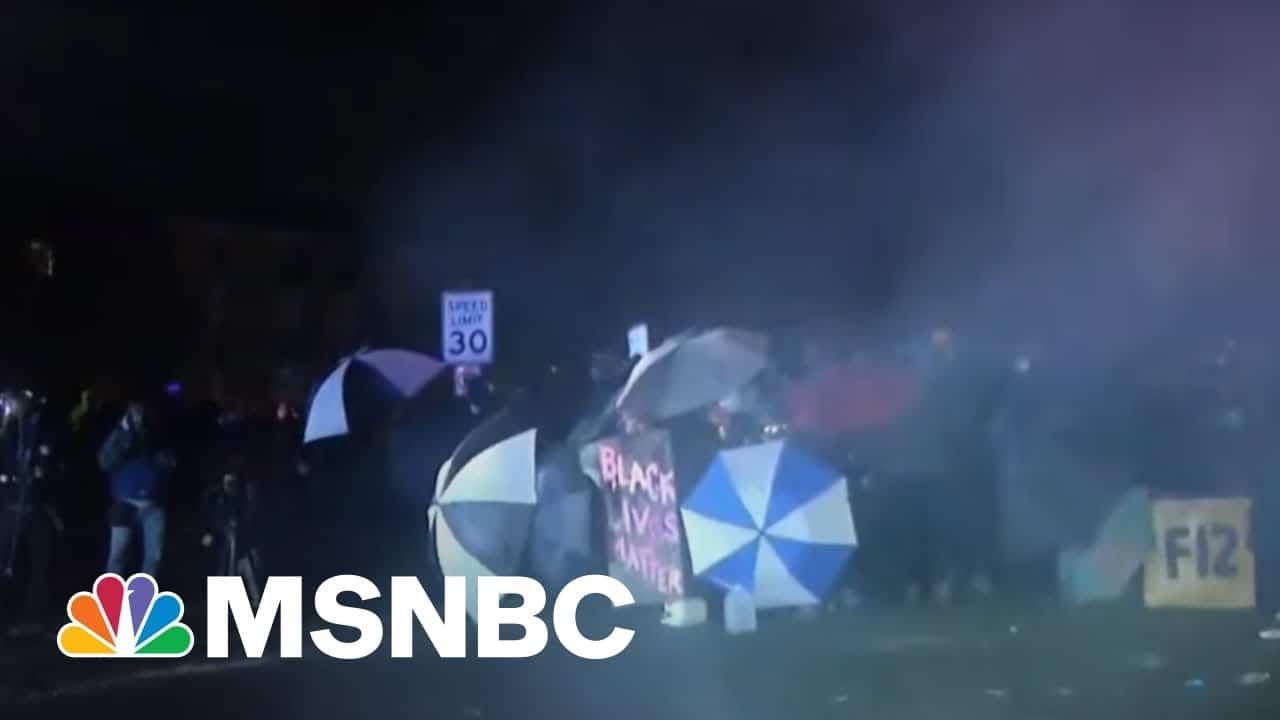 Protesters Clash With Police For Third Night After Daunte Wright's Death | Morning Joe | MSNBC 2
