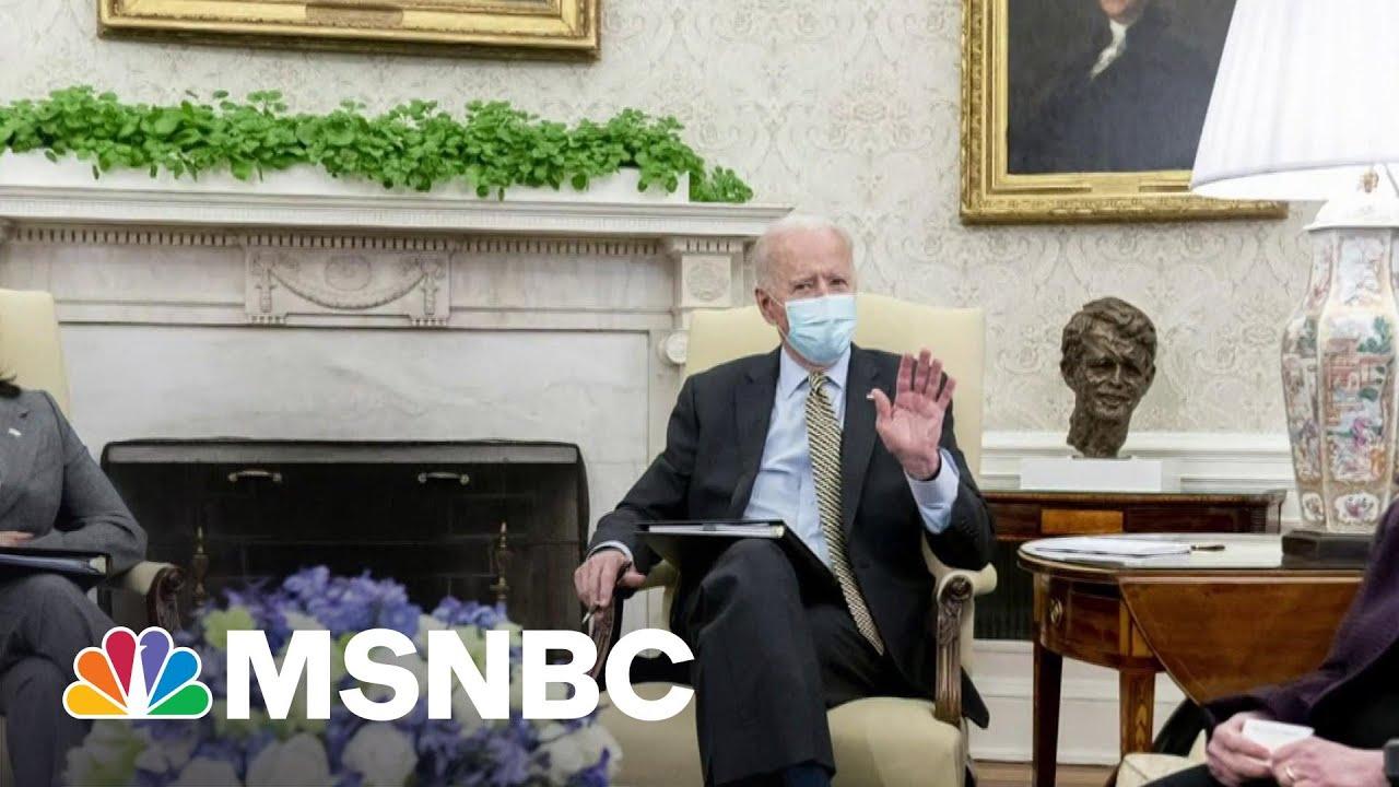 How Biden's Presidency Is Giving Hope To Progressives   Morning Joe   MSNBC 6
