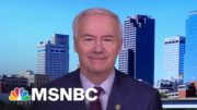 Gov. Hutchinson On Johnson & Johnson Vaccine   Stephanie Ruhle   MSNBC 4