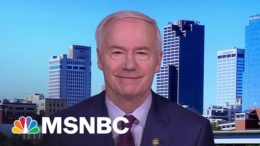Gov. Hutchinson On Johnson & Johnson Vaccine ​| Stephanie Ruhle | MSNBC 9