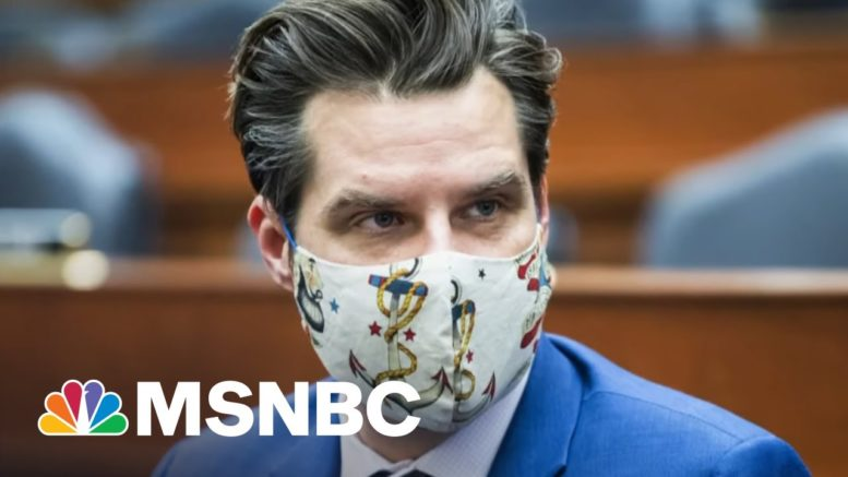 Indicted Gaetz Associate Said To Be Cooperating With DOJ | Morning Joe | MSNBC 1
