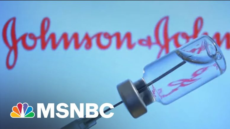 Dr. Peter Hotez Explains What You Need To Know On The J&J Vaccine Pause | Katy Tur | MSNBC 1