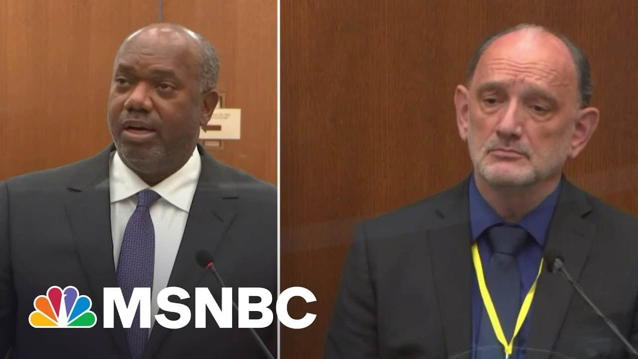 Prosecution Dismantles Defense Witness Theories About Cause Of Floyd's Death | The ReidOut | MSNBC 3