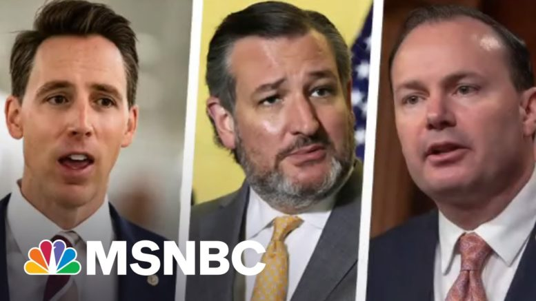 Ted Cruz And The Cancel Crew Want To Use Government Power To Punish 'Woke' Baseball | All In | MSNBC 1