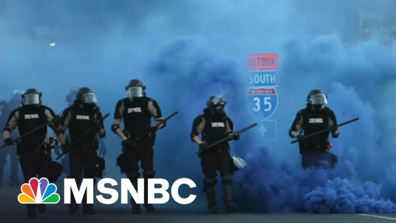 Jan 6th Would Have Been A Massacre If Police Had Reacted Like They Do To BLM Protests | All In 1