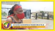 Vaccine Shortage as Thousands Turn Out Across Jamaica | TVJ News - April 13 2021 5