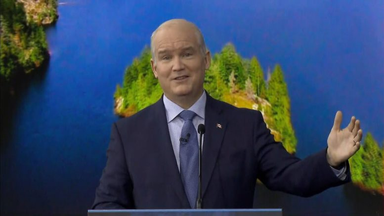 Conservative Leader Erin O'Toole unveils climate plan, would have price on carbon 1