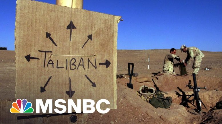 The Core Strategic Impossibility That Kept The U.S. In Afghanistan | Rachel Maddow | MSNBC 1