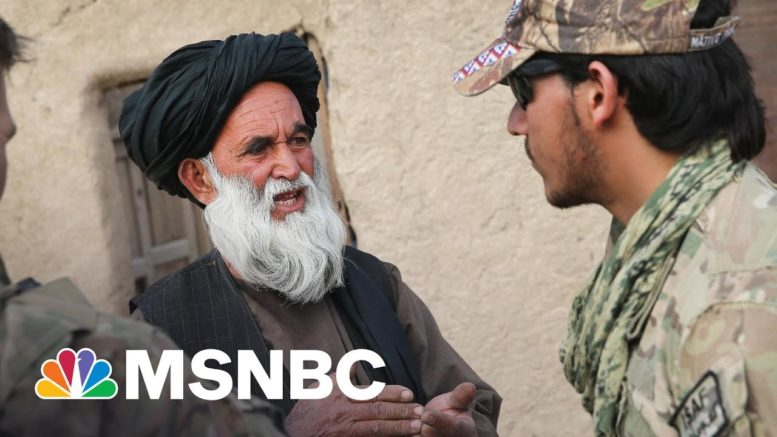With US Set To Leave Afghanistan, Concerns Turn To Afghan Allies Left Behind   Rachel Maddow   MSNBC 1