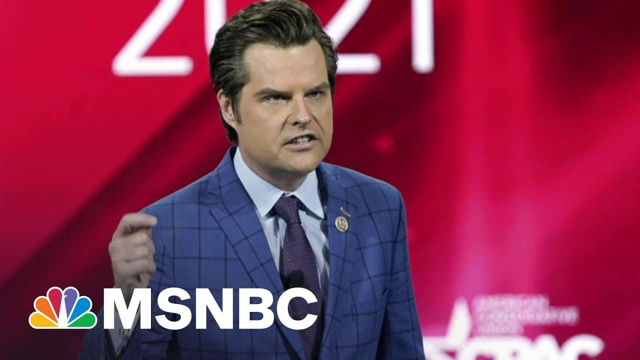 Republicans Really Don't Want To Talk About Matt Gaetz | The 11th Hour | MSNBC 3