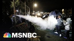 Police Break Up Daunte Wright Protests As Night Four Curfew Begins | The 11th Hour | MSNBC 7