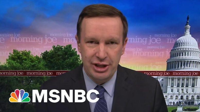 Sen. Murphy: Biden Made The Right Decision On Afghanistan | Morning Joe | MSNBC 1