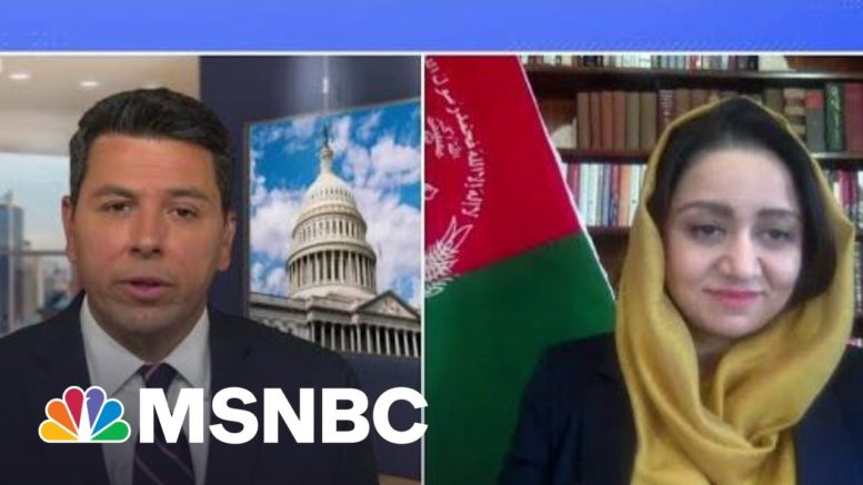 Amb. Roya Rahmani On Withdrawal Of US Troops From Afghanistan | Ayman Mohyeldin | MSNBC 1