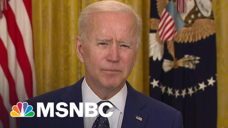 Biden 'Prepared To Take Further Action' If Russia Continues Election Interference | MSNBC 1