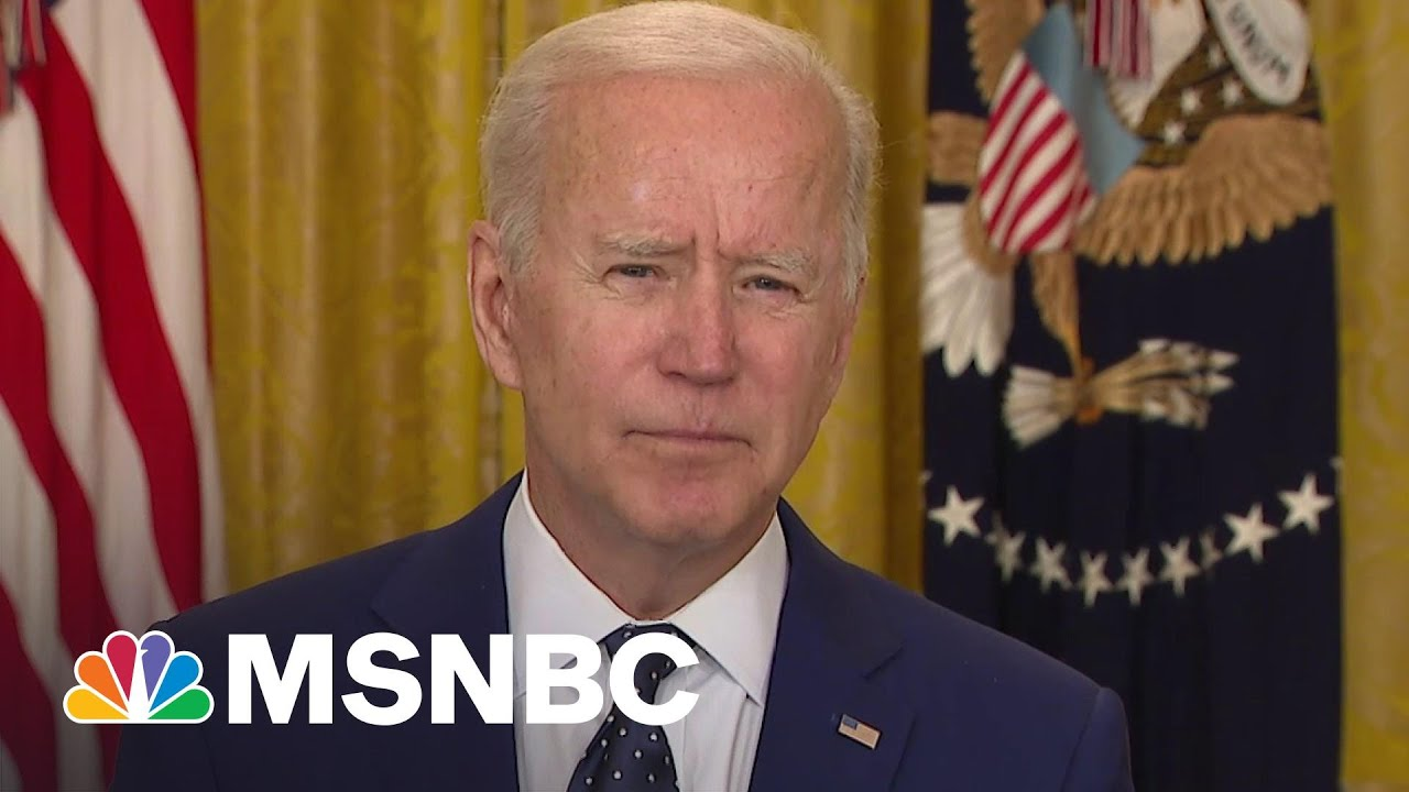 Biden 'Prepared To Take Further Action' If Russia Continues Election Interference | MSNBC 7