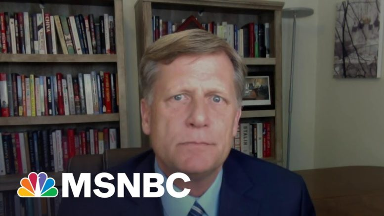 Amb. Michael McFaul Speaks To A New Era In U.S.-Russia Relations | Deadline | MSNBC 1