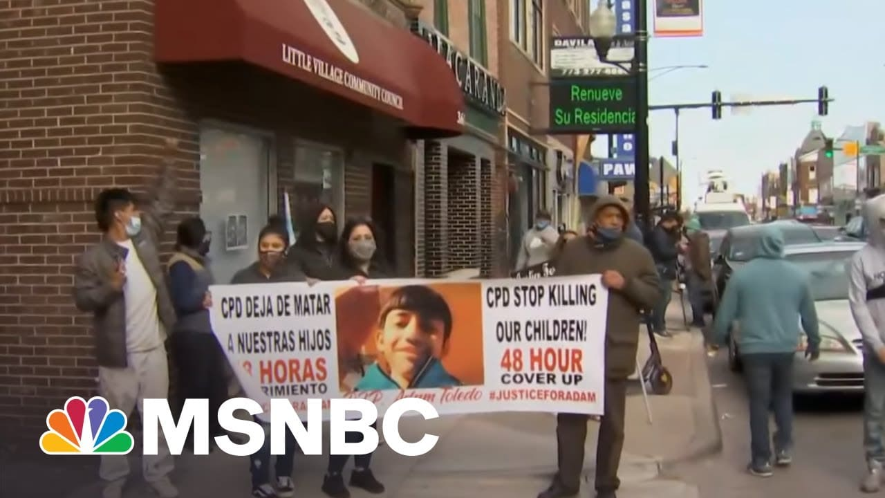 'People Feel Betrayed': Chicagoans React To Fatal Police Shooting Of 7th Grader   All In   MSNBC 7