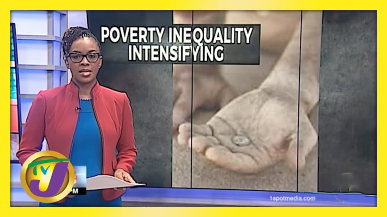 Poverty Inequality in Jamaica   TVJ Business Day - April 14 2021 1