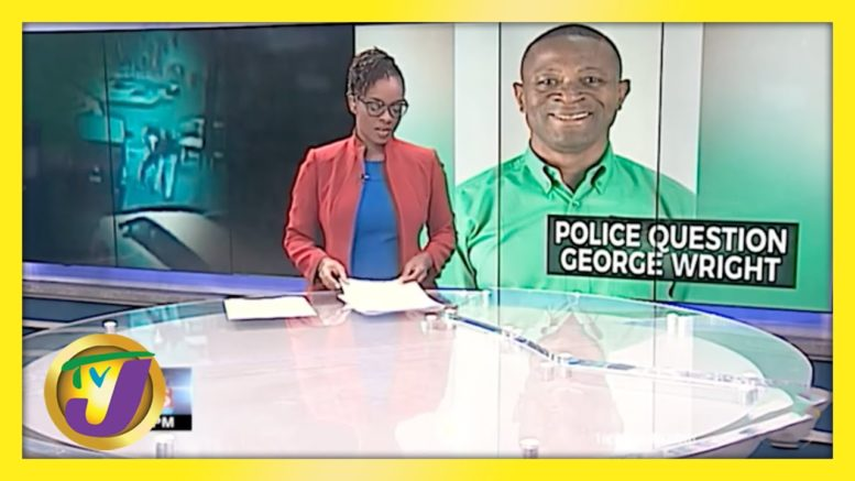 MP George Wright Questioned by Police About Alleged Assault | TVJ News - April 14 2021 1