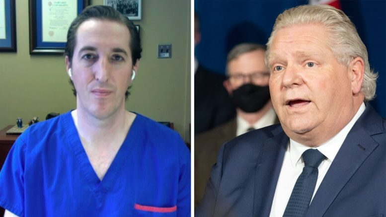 Dr. Isaac Bogoch breaks down the COVID-19 situation in Ontario ahead of Premier Ford's announcement 1