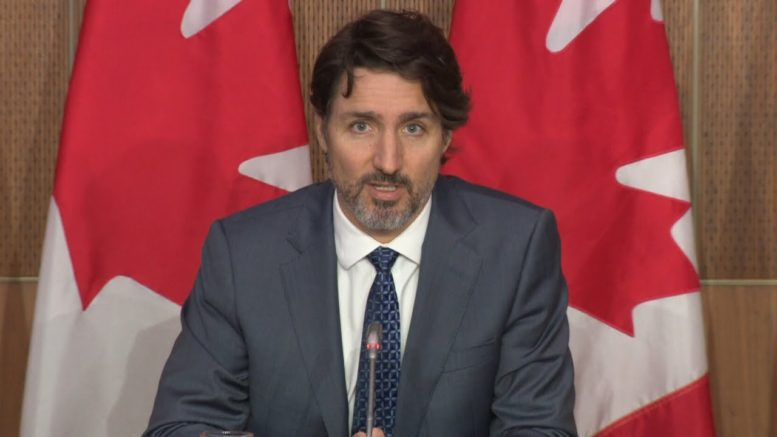 """Trudeau: """"With Erin O'Toole's carbon tax, the more you burn, the more you earn"""" 1"""