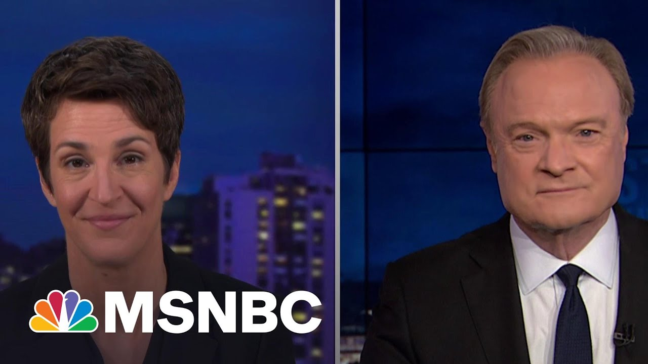 Lawrence & Rachel Discuss The US Confirming Russia-Trump Campaign Collusion   The Last Word   MSNBC 8