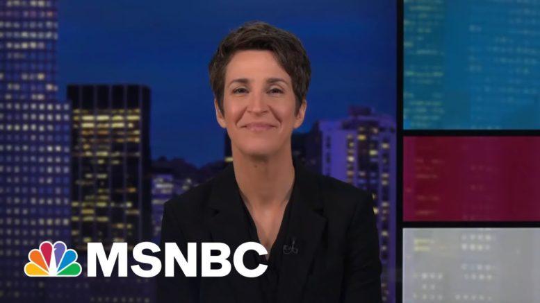 Bleep Slip Tweak Clips Script Read (Watermelon!) | Rachel Maddow | MSNBC 1