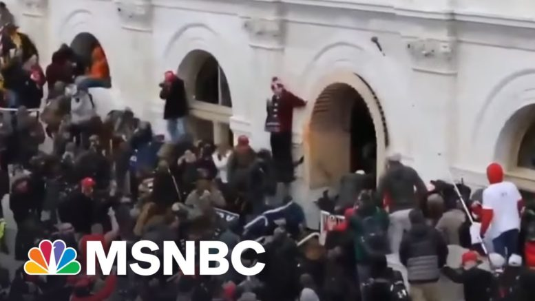 A Reflection On 100 Days Since The Capitol Riot | Way Too Early | MSNBC 1