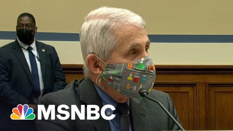 Why Rep. Jordan's Clashing With Dr. Fauci Is Personal | Morning Joe | MSNBC 1