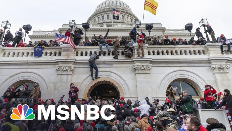 First Guilty Plea Entered In January 6 Capitol Riot Cases | Craig Melvin | MSNBC 1