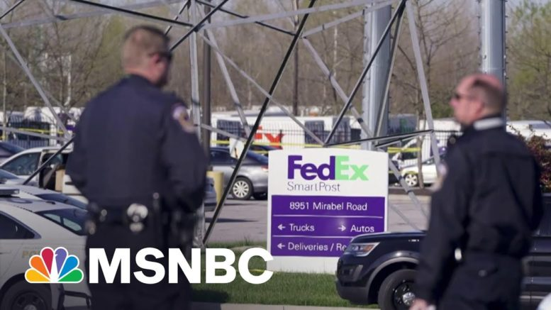 'Gap In Information' About Indianapolis Shooting Suspect | MTP Daily | MSNBC 1