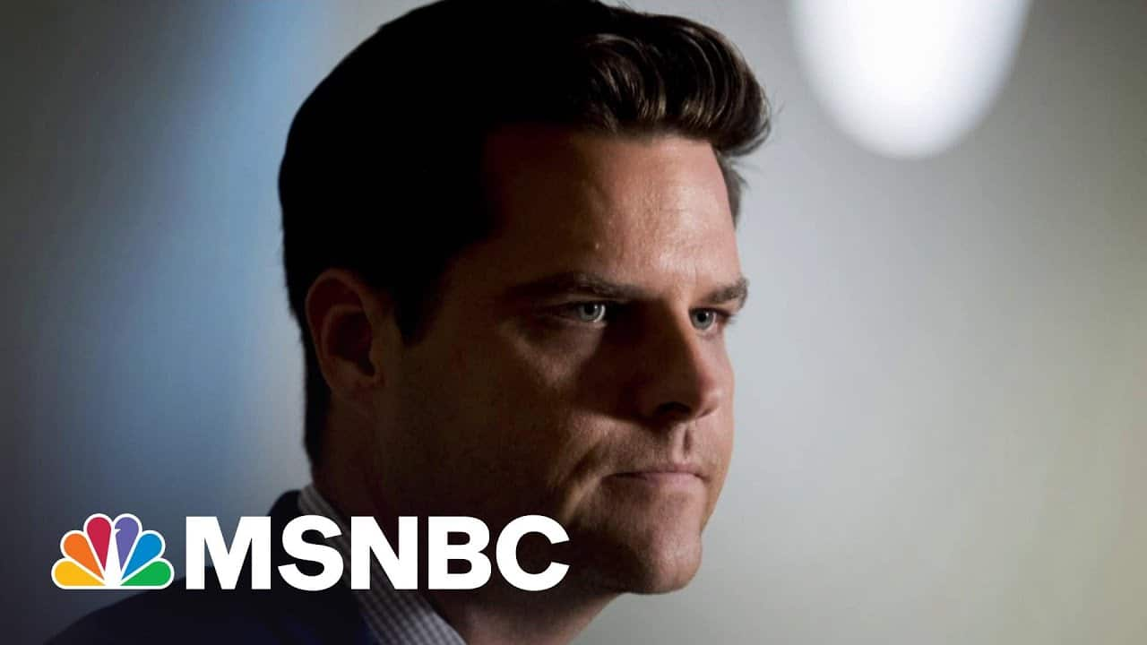 NYT: DOJ's Gaetz Inquiry Looking At Cash Paid To Women | The 11th Hour | MSNBC 9