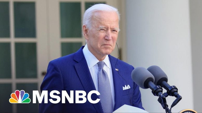 Biden: Mass Shootings In U.S. Are A 'National Embarrassment' | MSNBC 1