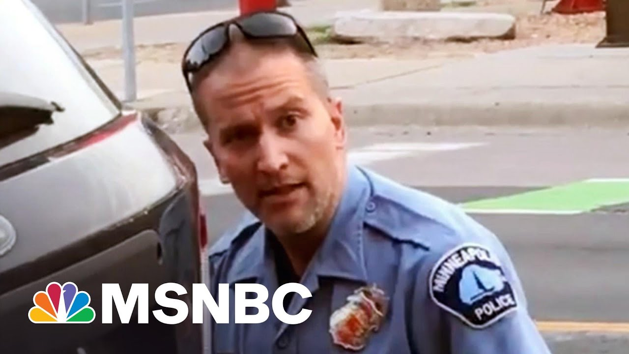 Chauvin's Fmr. Supervisor: Restraint Of Floyd Violated Policy | The 11th Hour | MSNBC 1