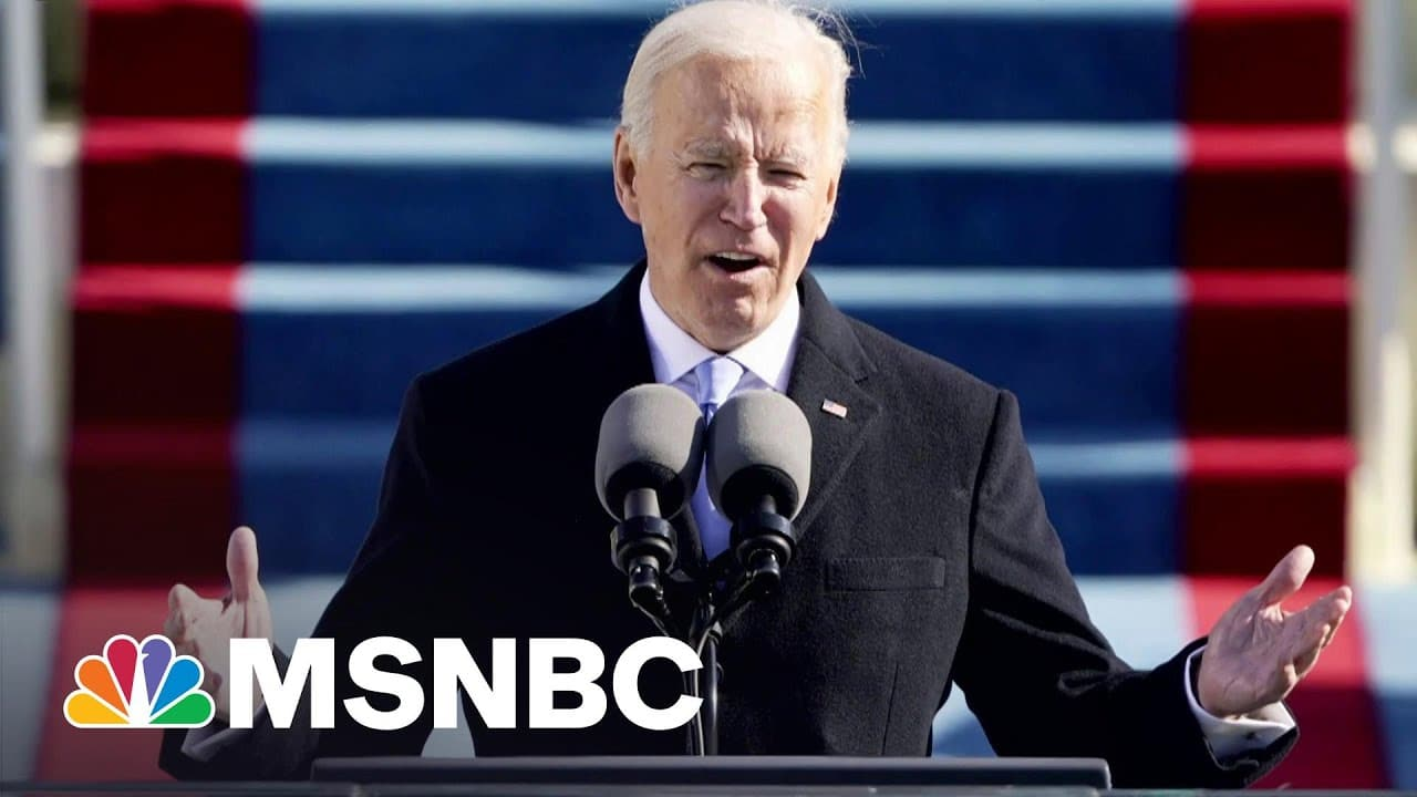 'Self-Sabotage': GOP Flails Post-Trump While Biden's Popularity Soars | The Beat With Ari Melber 1