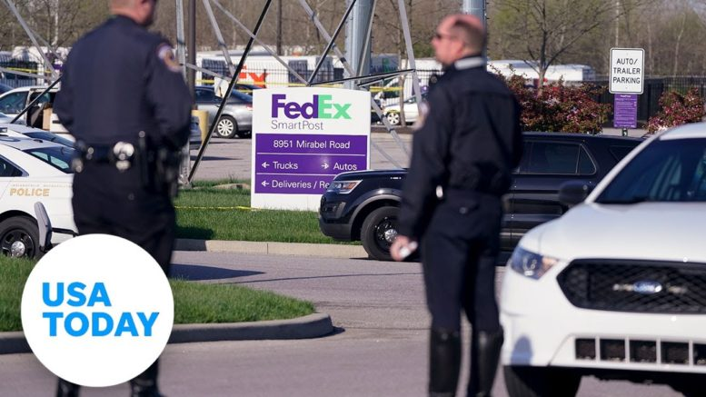 Officials hold news conference after shooting at FedEx facility in Indianapolis | USA Today 1