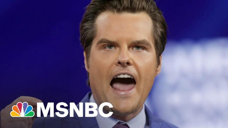 Butler: Rep. Gaetz Should Stay Off Fox News And Lawyer Up | The 11th Hour | MSNBC 1
