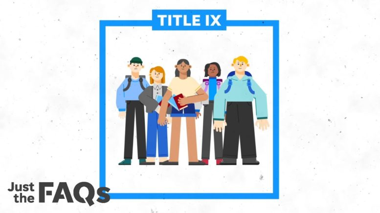 Here's how Title IX is used to protect trans students, female athletes | Just the FAQs 1